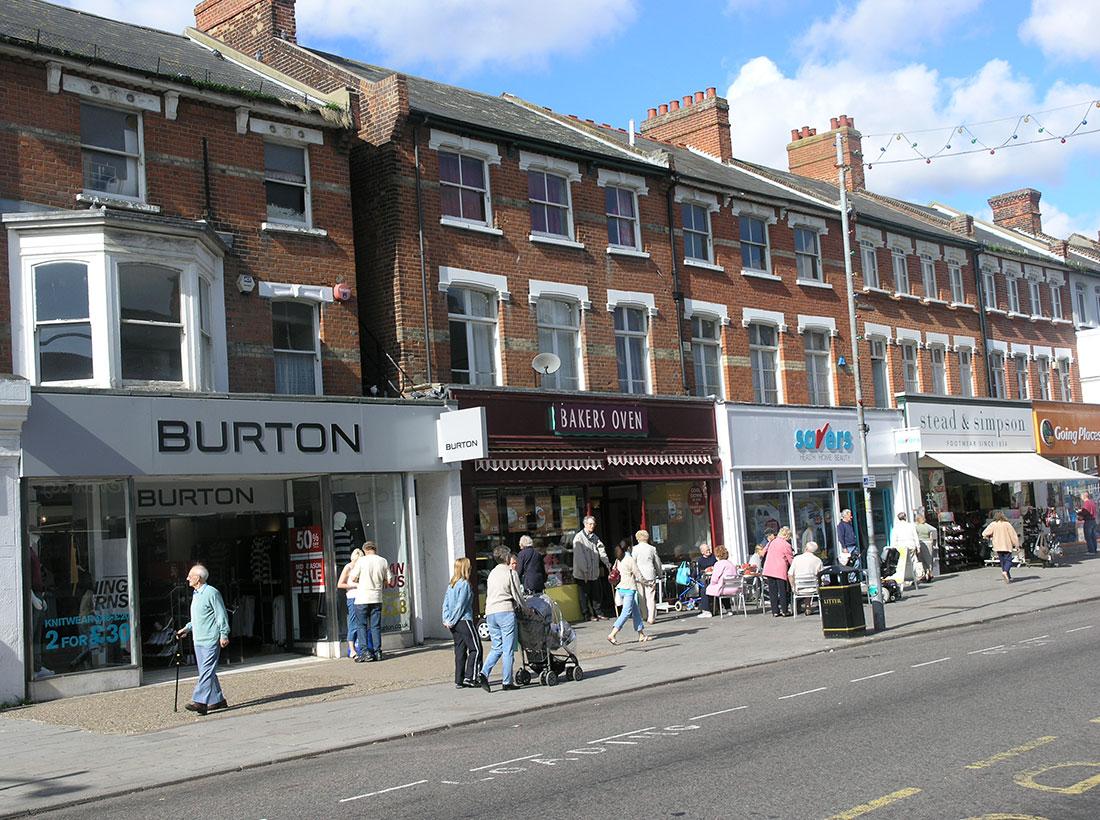 High Street, Clacton